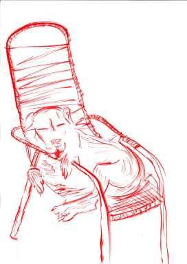 Estrela e sua cadeira