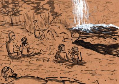 Cachoeira Poço encantado _ Cavalcante